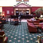 the front lobby/atrium