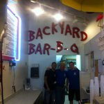 Great people. Come try the BBQ .