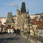 charles bridge, 30 second walk