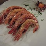 and more prawns - grilled this time