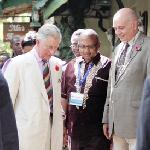 A Royal visitor to the lodge - 9th November 2011