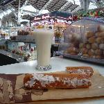 bibita e dolce tipico valenziano