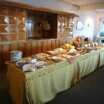 desayuno buffet espectacular!!!!