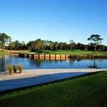 Golf Bridge on the 11th Gren
