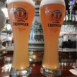 Ahhh....there's nothing like a tall glass of refreshing Erdinger!