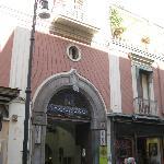 Entrance to Hotel Corso