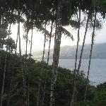 early morning view of Lake Arenal from Villa Decary