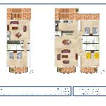 1 & 2 BDR Lay Out