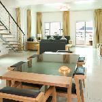 3 BDR Suite Living & Dining