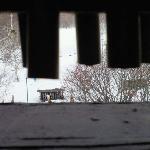 目の前のスキー場です(部屋の露天風呂から撮影)
