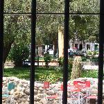 La Plaza desde el Resto