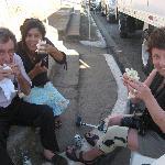 la fête du plus long fromage à La Paz Centro