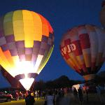 Fall balloon fest in Mancos
