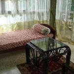 Enclosed sit-out