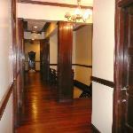 il corridoio su cui si affaccia il dormitorio