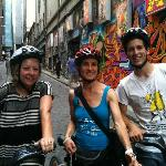 Hosier Lane with Sue & Marc