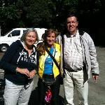 With Bert & Christine