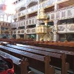 Jauer, Friedenskirche, Innenraum