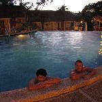 Another evening swim