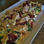Pesto Chicken Flatbread