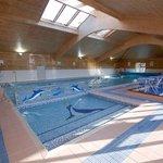 Indoor heated pool open all year.
