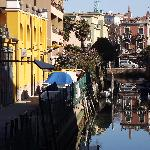 Lido has picturesque canals too.