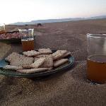 Tea in Sahara with you....