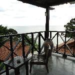 Mer depuis le balcon