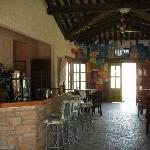 Bar and dining area