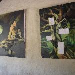More hanging art