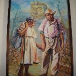 Mayan couple by Edgar Zelaya
