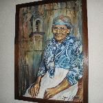 An Old Lady by Edgar Zelaya