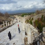 Pathway through Ephesus