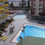 parte de la piscina