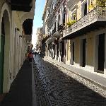 Street and Homes in Old San Juan
