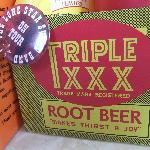 Real root beer.