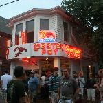 The Lobster Pot Restaurant.