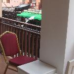 balcony from room 102