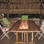sala da pranzo coperta