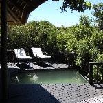 Terrasse mit plunch pool