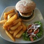 Australian Burger Meal