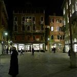 Campo San Luca at night