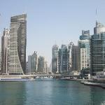 Dubai Marina view - great place to walk, run or just hang out