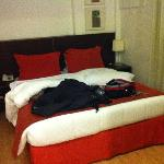 The main bed