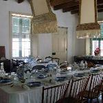 Historic dining room in Museum