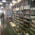 También podemos comprar productos ecológicos.