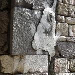 Agora d'Izmir, détail des murs