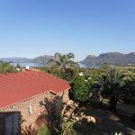 Uitzicht vanaf het Guest House