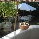 Patio and Breakfast area