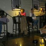 Singer and barman